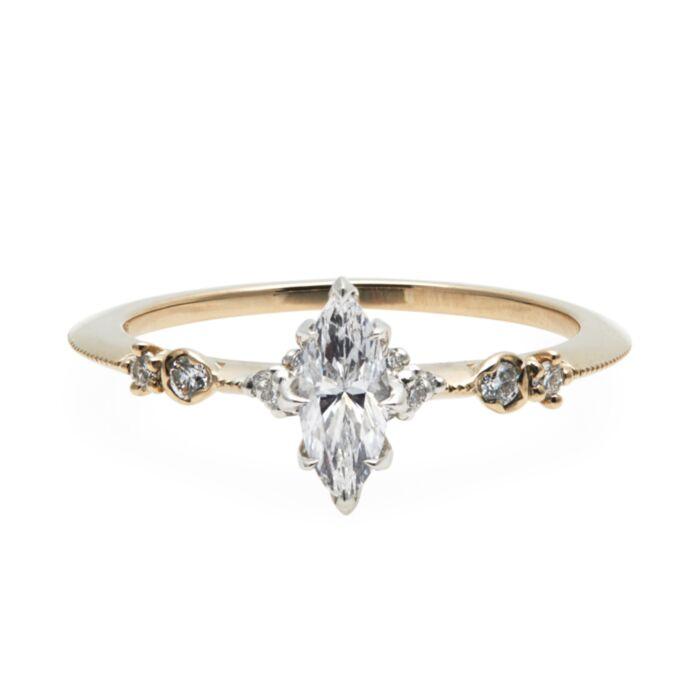 Iris Marquise Ring