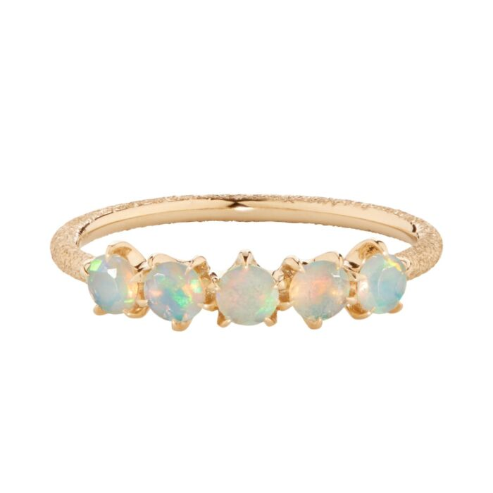 Cassiopeia Ring, Opal