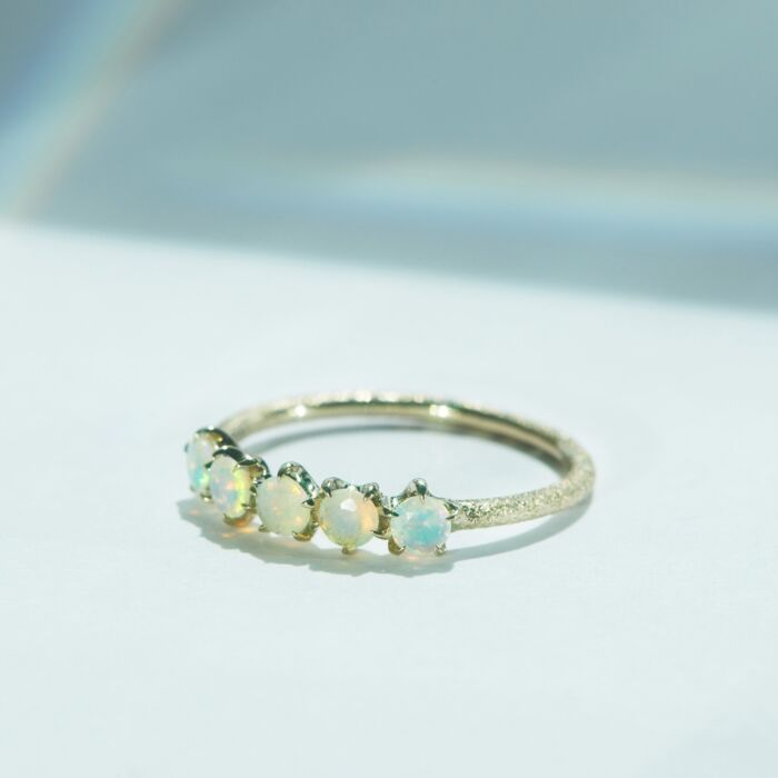 Cassiopeia Ring, Opal image