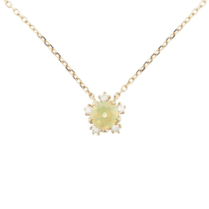 Sakura Necklace, Opal