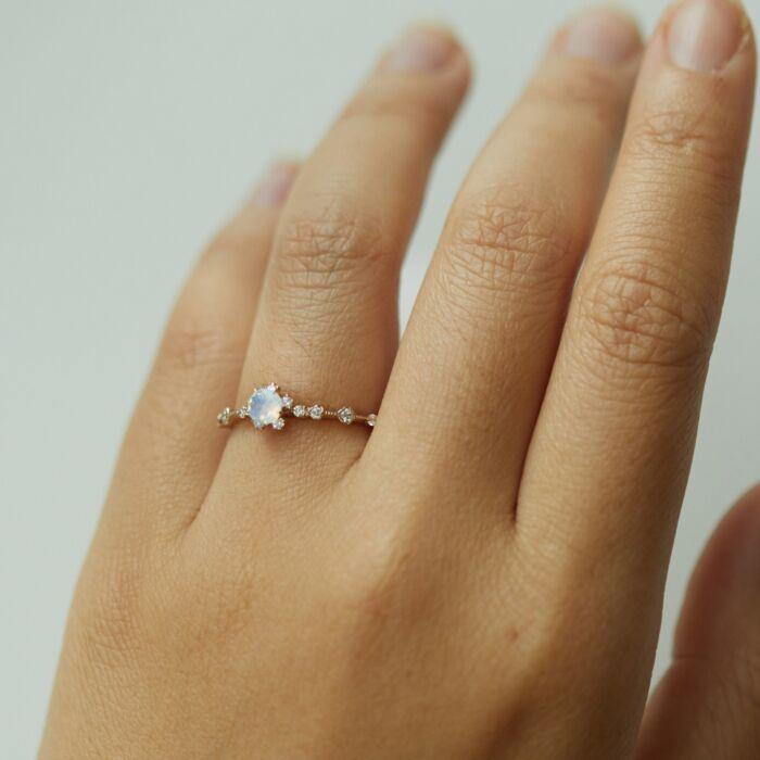 Sakura Ring, Opal image