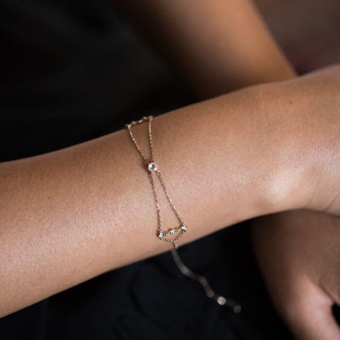 Golden Pavilion Bracelet