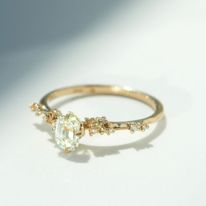 Daphne Solitaire Ring