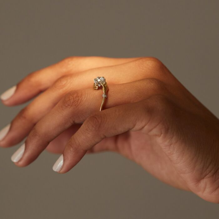 Cupping Hands Ring image