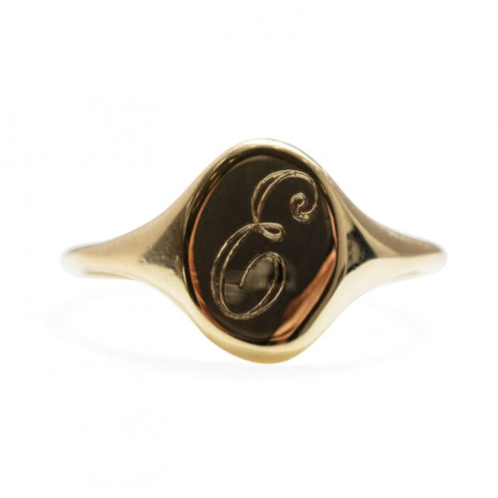 Small Heirloom Signet Ring image