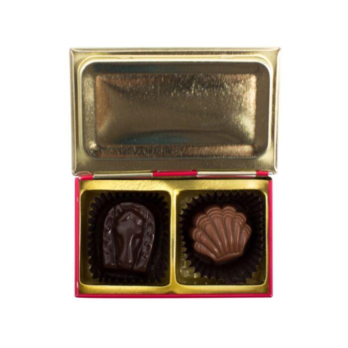 Jewel Box Chocolate Tin - Red image