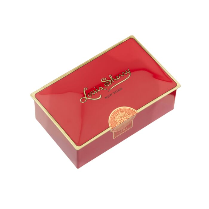 Jewel Box Chocolate Tin, Red