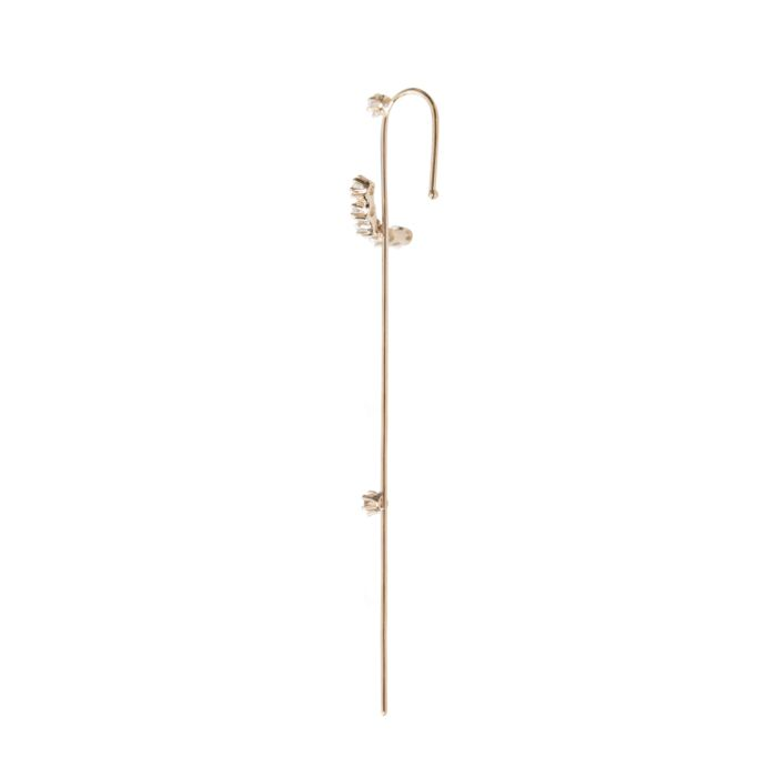 Magic Wand Needle Earring image