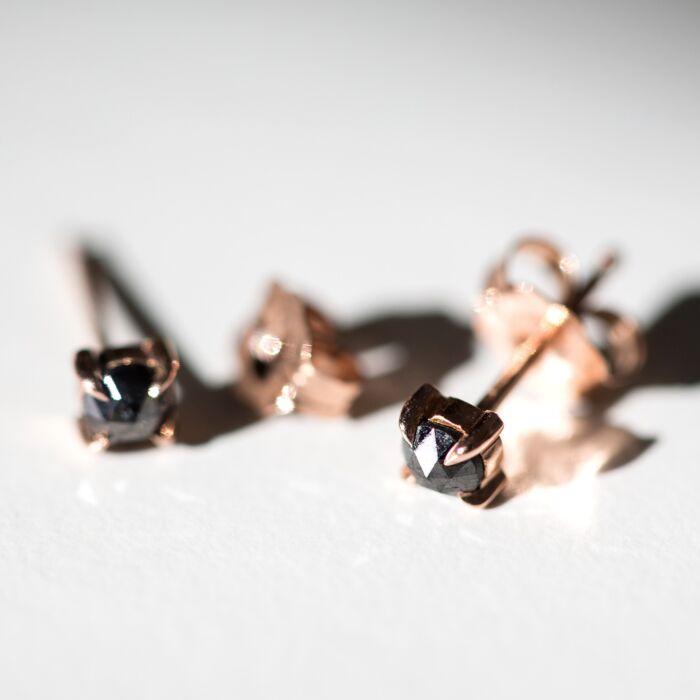 Maleficent Black Diamond Stud (single) image