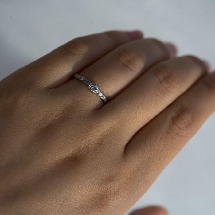 Anna Karenina Marquise Diamond Ring image