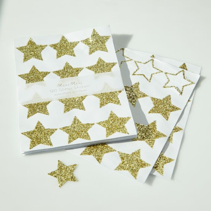 Gold Star Stickers image