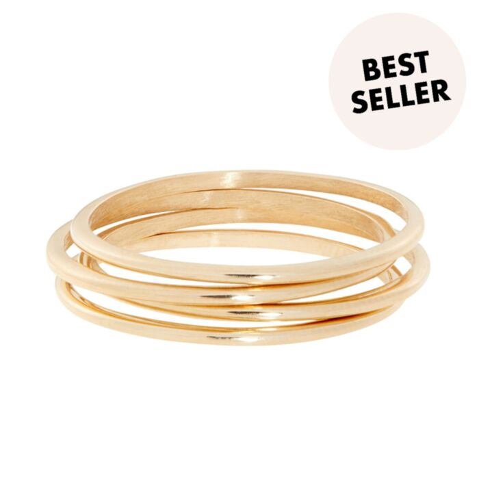 Mignon Memory Ring, yellow gold