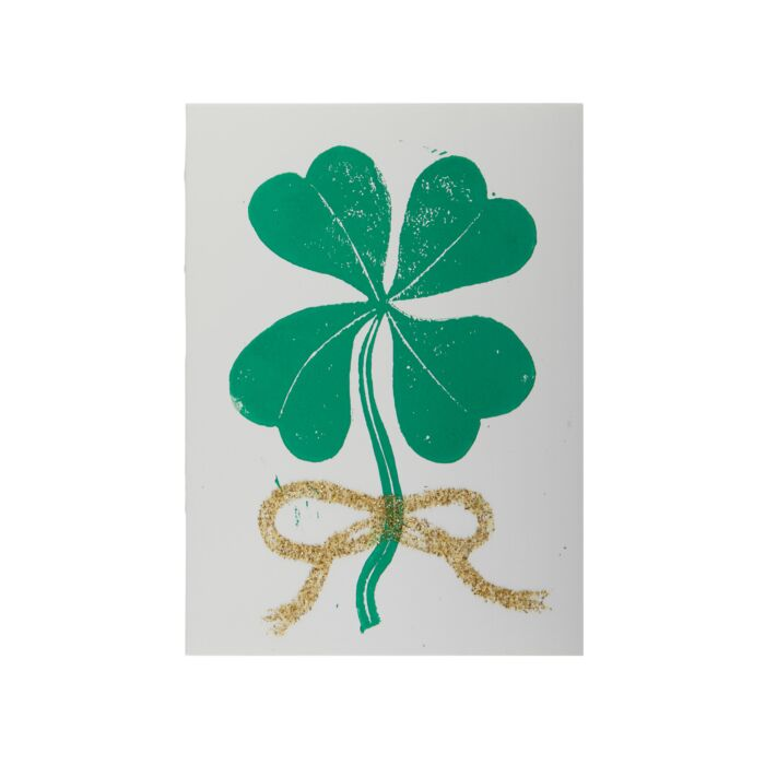 Lucky Clover Frameable Card