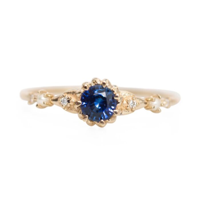Clara's Dream Sapphire Ring