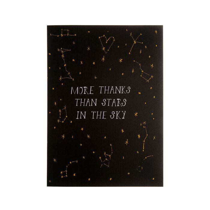 More Thanks than Stars Card