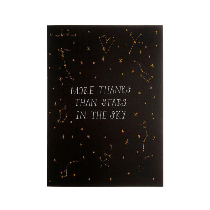More Thanks than Stars Card image