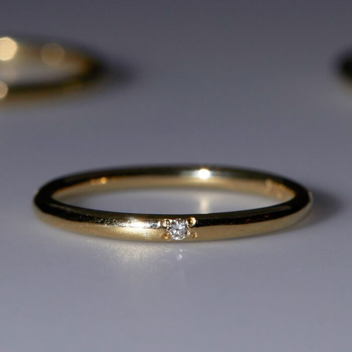Single Diamond Band image