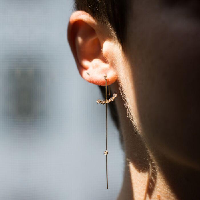 Magic Wand Needle Earring image