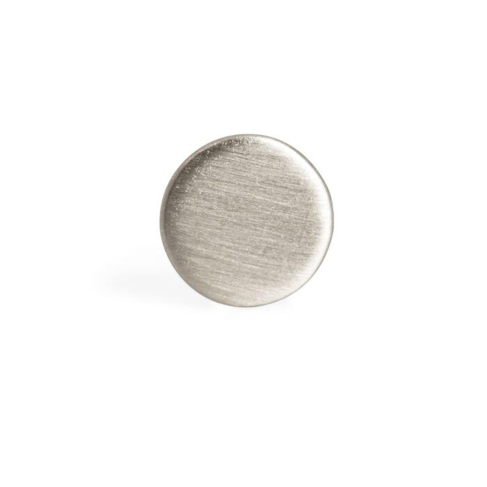 Dot Stud Earring, silver (single) image