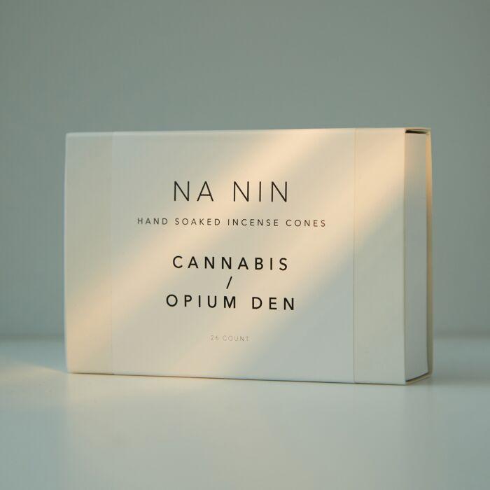 Cannabis & Opium Den Incense Cones