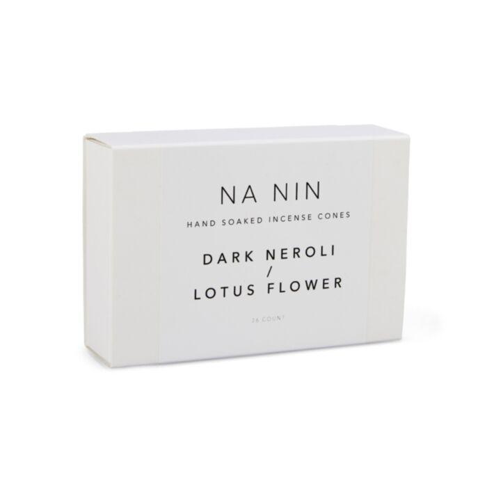 Dark Neroli & Lotus Flower Incense Cones