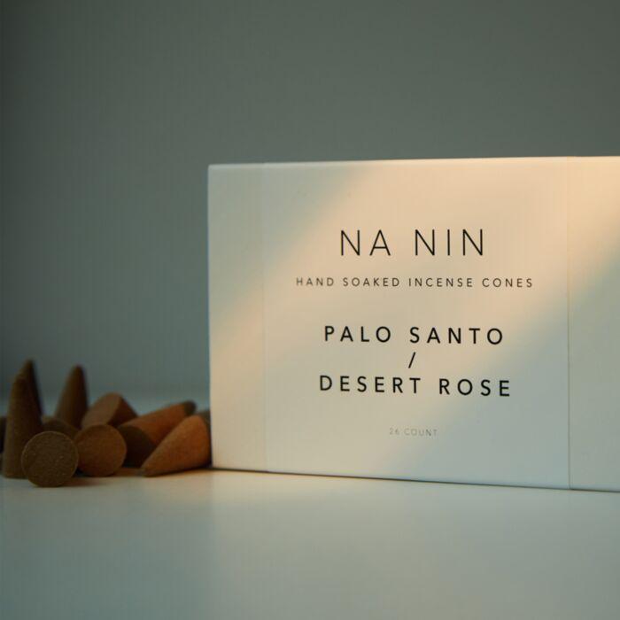 Palo Santo & Desert Rose Incense Cones