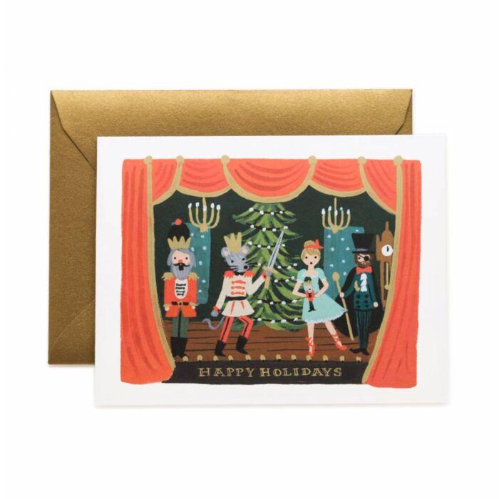 Nutcracker Scene Holiday Card