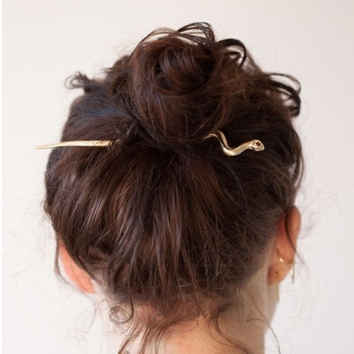 Makao Snake Hair Pin image
