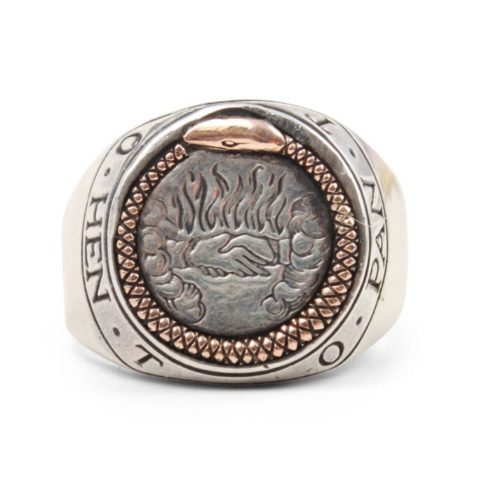 Ouroboros Signet Ring