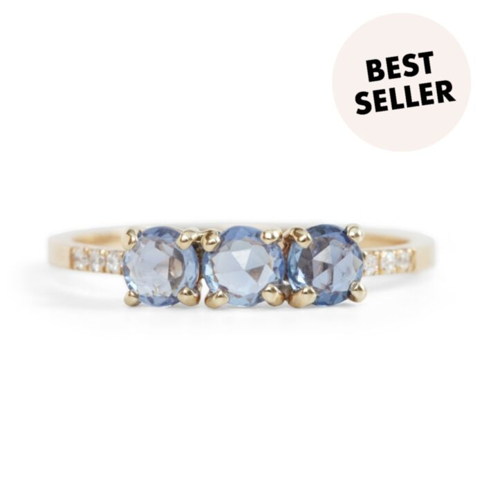 Painter's Blue Sapphire Ring