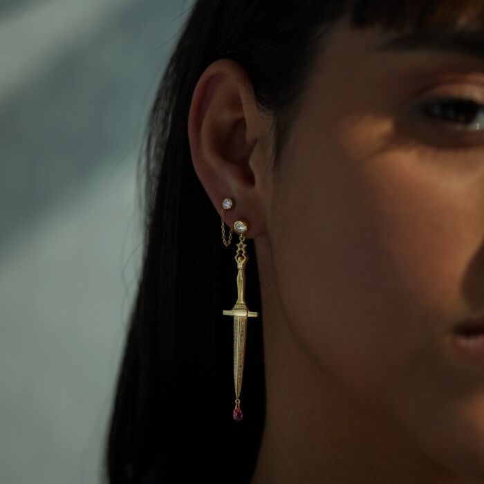 Dangerously Beautiful Dagger Earrings image