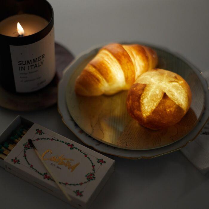 Dinner Roll Lamp image