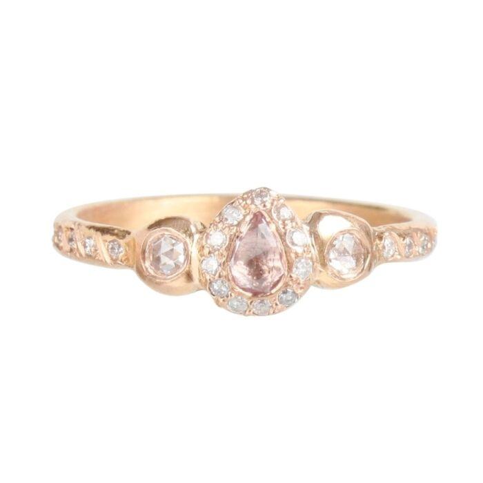 Pavlova Pink Sapphire Ring image