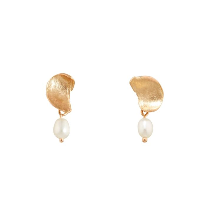 Pearl Smudge Earring (single)