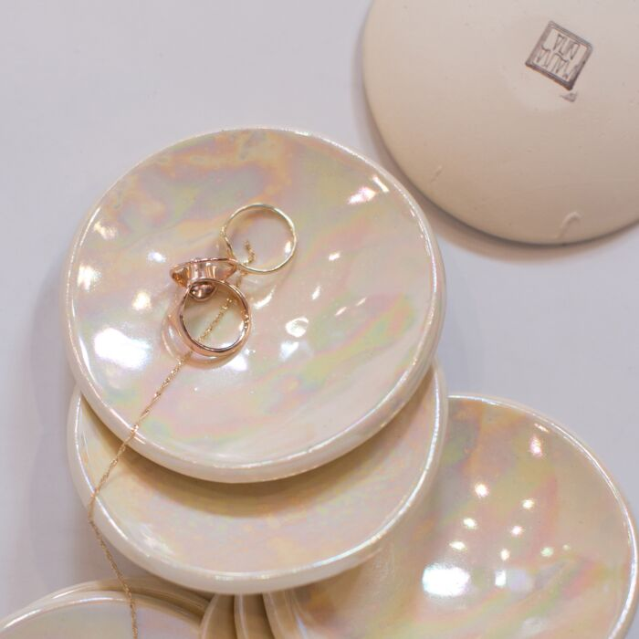 Mother of Pearl Ring Dish image