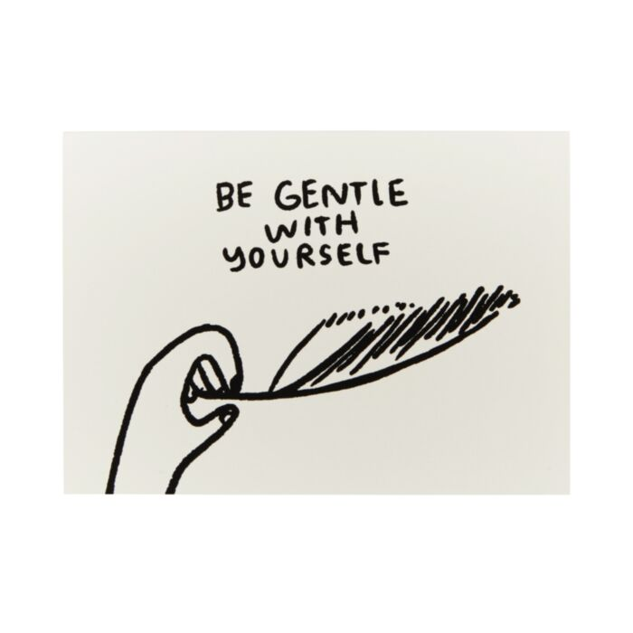 Be Gentle With Yourself Card, Front