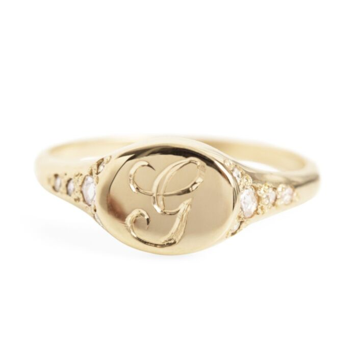 Viola's Treasure Signet Ring