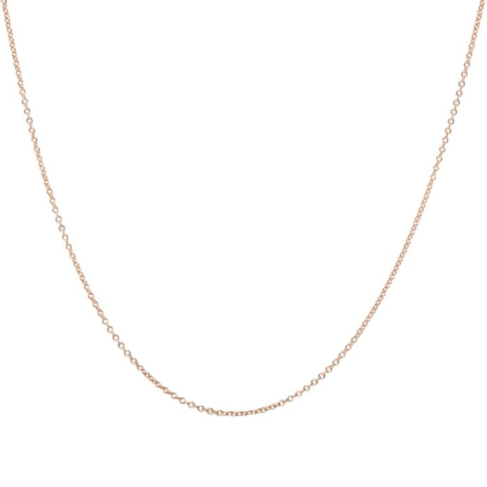 Adjustable Plain Chain, Rose Gold image