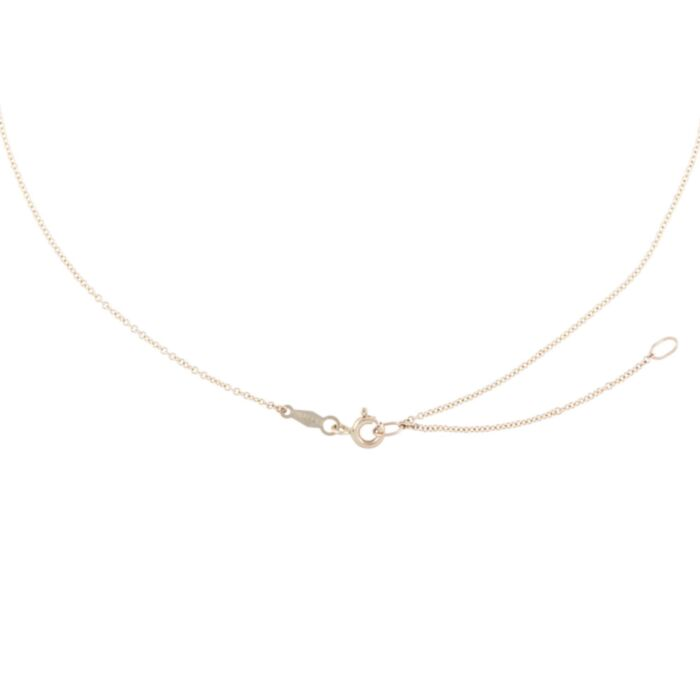 Adjustable Plain Chain, Yellow Gold image