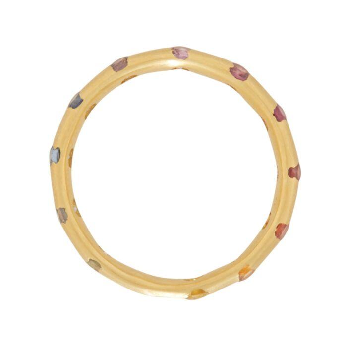 Celeste Crystal Ring, Rainbow image