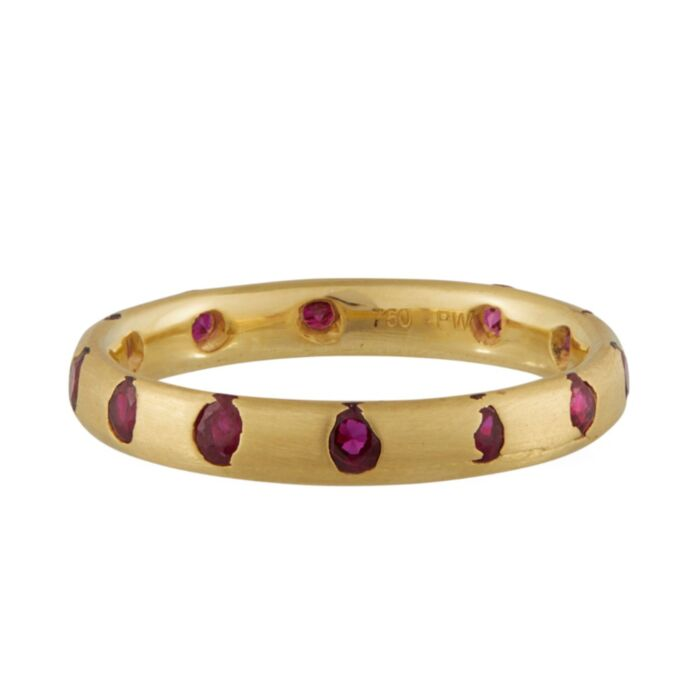 Celeste Crystal Ring, Ruby