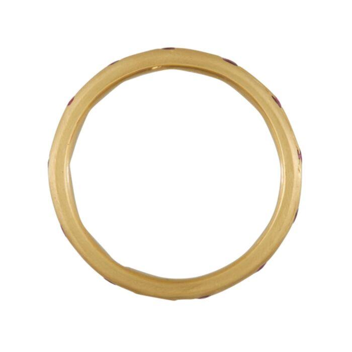 Celeste Crystal Ring, Ruby image