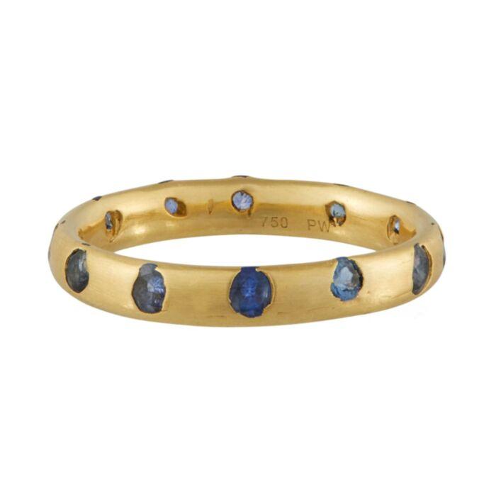 Celeste Crystal Ring, Sapphire