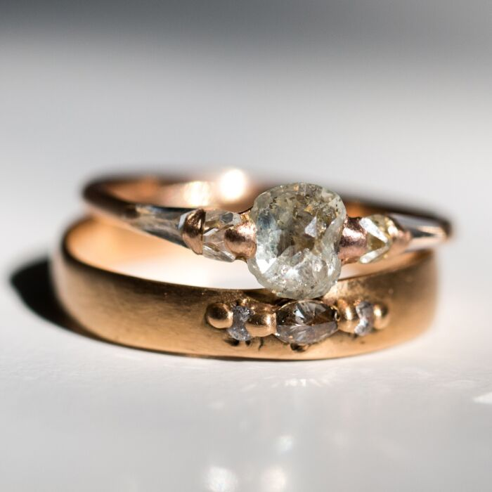Diamond Pinched Band image
