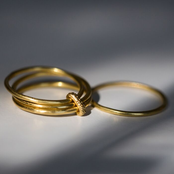 Single Rattle Stack Ring image