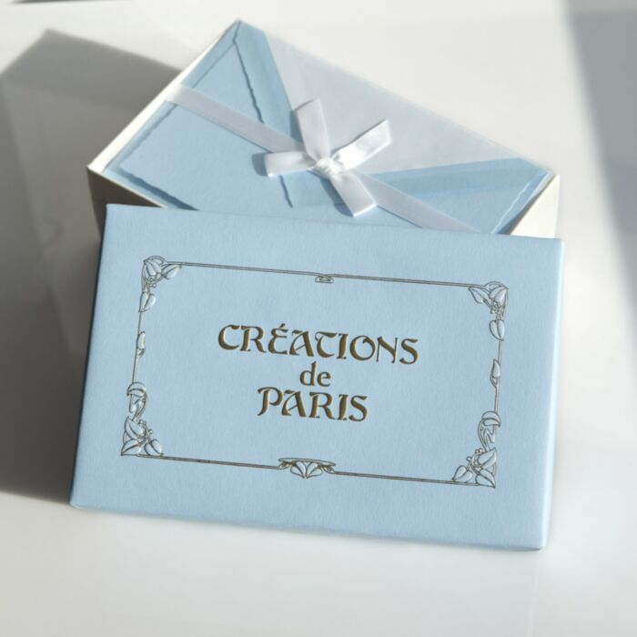 Créations de Paris Stationery Set, Nice Blue