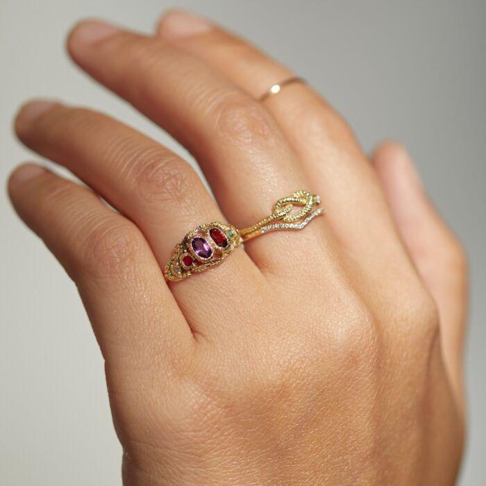 Victorian Regard Ring image