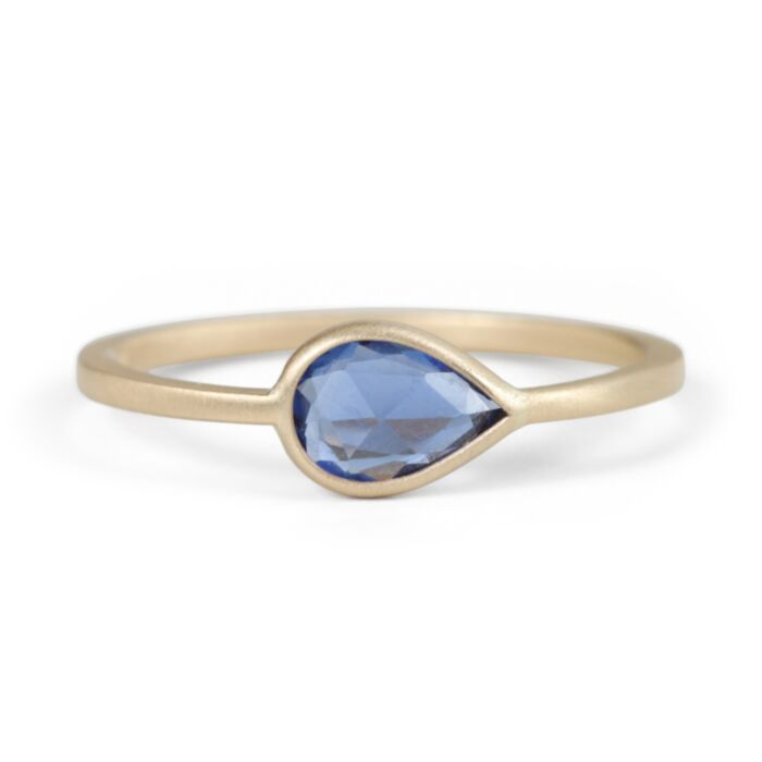 Pale Blue Eyes Ring