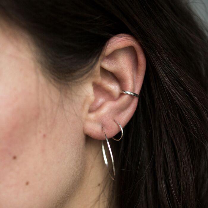 Ear Cuff, silver image