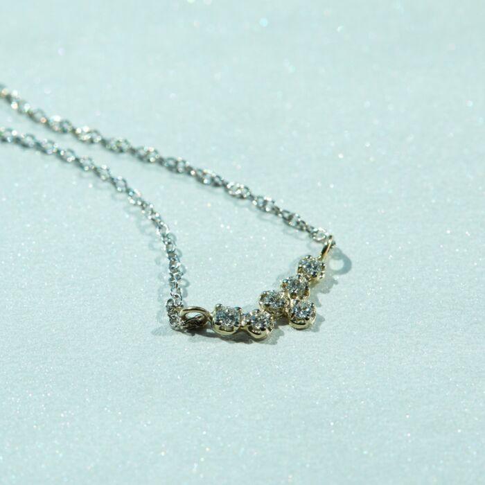 Hydra White Diamond Necklace image